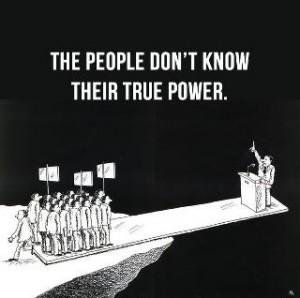Ժողովրդի ճշմարիտ ուժը