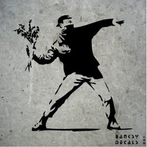 Բենքսի «ծաղկեփունջ նետողը»