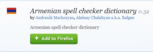 Armenian Spell cheker dicionary