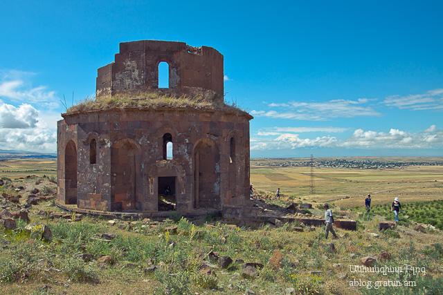 6 Զորավոր եկեղեցի. Եղվարդի Ս.Թեոդորոս վանք