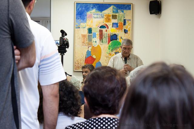 Կարեն Սվասյան - դասախոսություն (Երևան, Բյուրոկրատ գրախանութ,2012-07-10)
