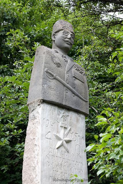 Հուշարձան, նվիրված է Հայրենական Մեծ Պատերազմի մասնակիցներին