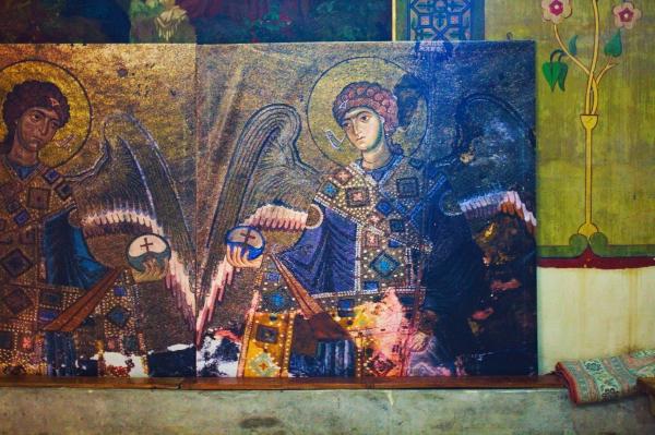 Շիո Մղվիմե վանքում․ Սրբապատկեր