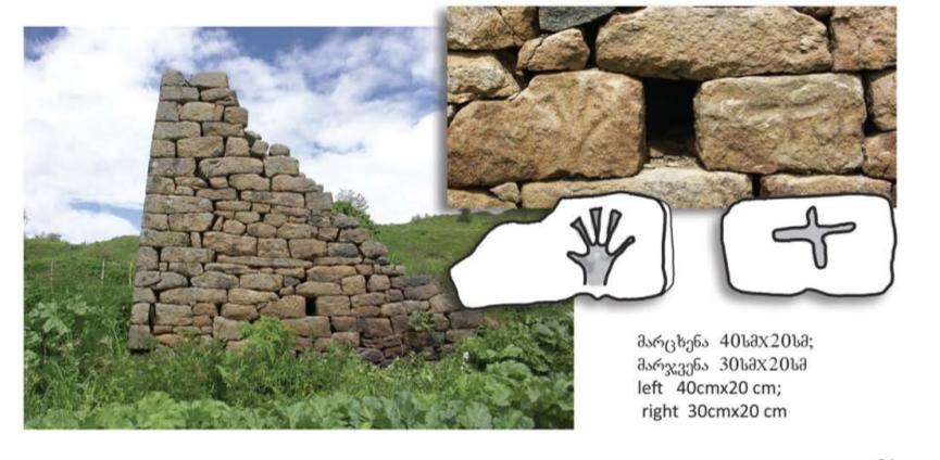 georgian petroglyphs hands 3