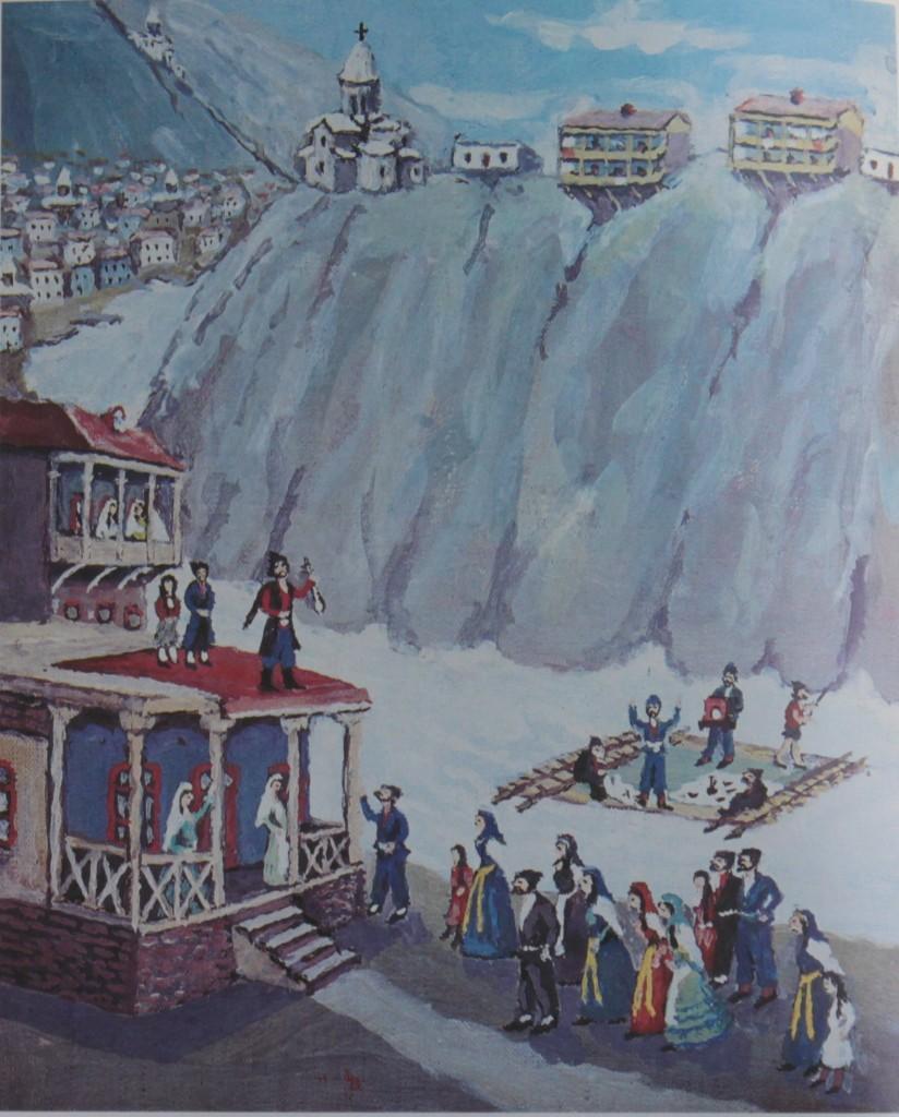 Սայաթ֊Նովան նվագում է Քուռի ափին ․Էլիբեկյան Վաղարշակ