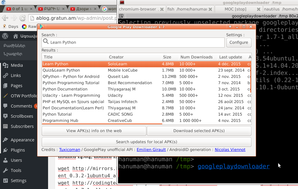 googleplaydownloader